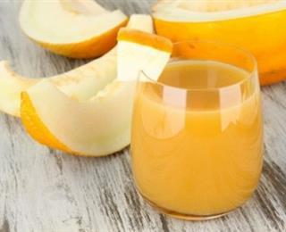 عصير الشمام بالعسل