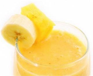 عصير الأناناس والموز