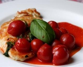 سمك الفيليه على الطريقة الايطالية