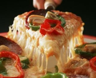 بيتزا بالنقانق ..