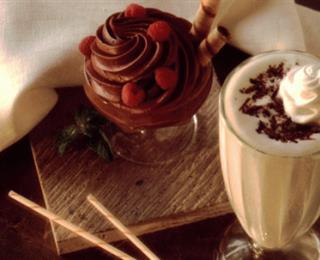 ميلك شيك الشوكولاتة