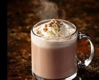 شراب الشوكولاتة مع البوظة
