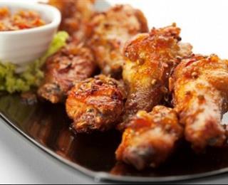 دجاج الكاري بالفرن