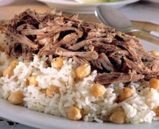 الرز بالحمص