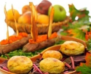 قوارب البطاطا الحلوة والخرشوف