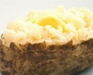 البطاطس المشوية