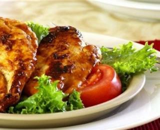 شوي الدجاج بالملح