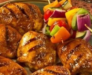 عمل الدجاج المشوي بالميرمية