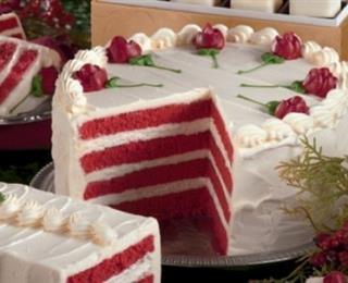 الكعكة الحمراء المخملية
