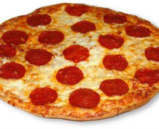 بيتزا بالببروني