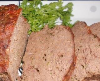 قالب اللحم بالفستق