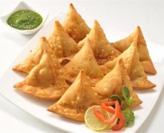 سمبوسة هندية بحشوة البطاطس