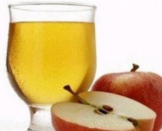 عصير التفاح بالصودا