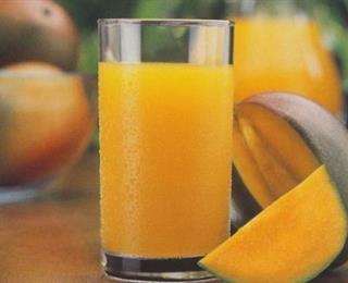 عصير المانجا المثلجة
