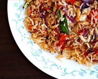 الرز الهندي الحار