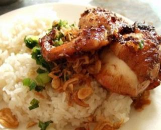 أرز لايت مع الدجاج