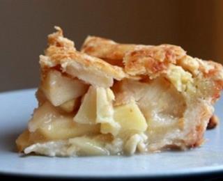فطيرة التفاح بالجبن