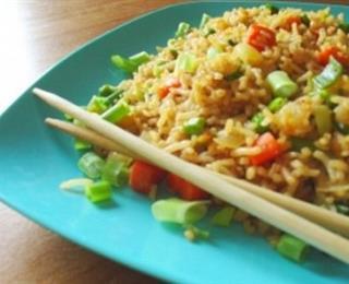 الأرز الصيني المقلي