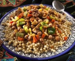 مغربية بالخضر