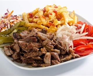 شاورما اللحمه